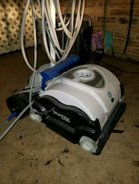 white and black canister vacuum cleaner Duson, 70529