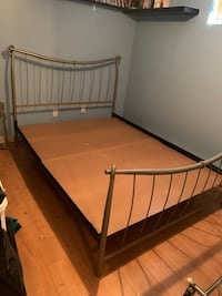 Stainless steel bed frame