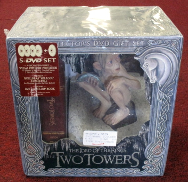 Lord of the Rings -- The Two Towers 5 DVD Collectors Set