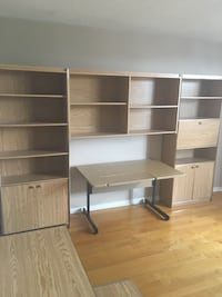 Oak coloured wall unit Mississauga, L5N 6Z4
