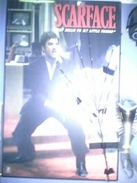 Scarface pictures almost 4 ft high