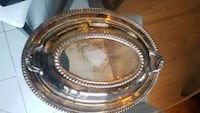 Silver platter with lid. set of 2 Toronto, M1B 5X1