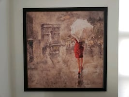 French Wall Art Painting