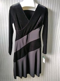 Ralph Lauren dress. Black velvet. Size 4. New. Portsmouth, 23703