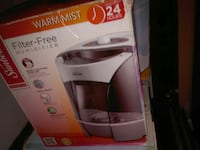 Warm Mist Filter-free humidifier