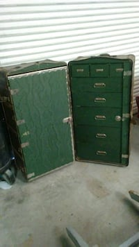 black and green metal tool chest Cape Coral, 33904
