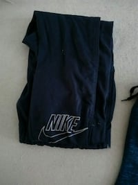 svarta Nike sweatpants 6552 km