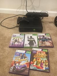 Xbox 360 with Kinect , controller and a few games to keep you entertained instantly for months Zionsville, 46077