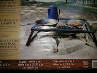 Brand new xl camping grill. 4 immed. pickup only. Petaluma, 94954