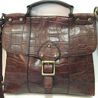 Fossil leather handbag Ames, 50014