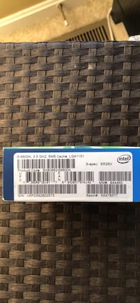 Intel i5 6600k cpu Woodbridge, 22193