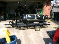 120 gal. Smoker/ BBQ. Grill with a propane burner  Edmond, 73012
