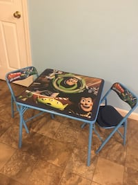 Toy Story table & 2 chairs