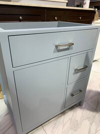 "30"" Gray Single Sink Bathroom Vanity Cabinet Fairfax, 22031"