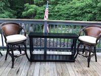 Just 2 chairs. Table sold Saugus, 01906