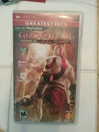 Pap PlayStation game God of war new Staten Island, 10306