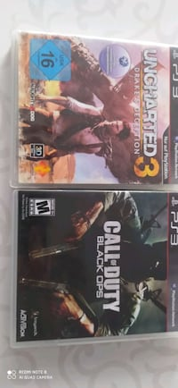 Uncharted 3 ve call of duty black ops