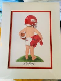Baby Razorback in Training Matted Print Sherwood, 72120