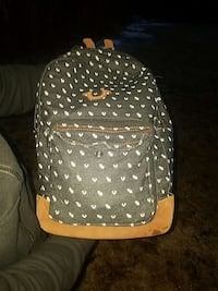 gray and brown True Religion backpack Taunton, 02780