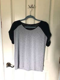 Grey and black top Beaconsfield