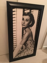 "Audrey Hepburn 45.5"" tall by 25.5"" wide  Surrey"