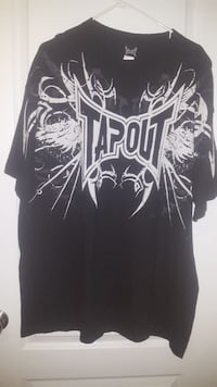 Black tapout t-shirt  Lincoln, L0R