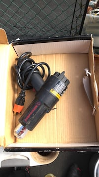 black and red Craftsman corded power tool Union, 07083