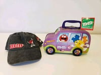 M & M's Tin/Lunchbox & Hat Good For Back To School Santa Rosa, 95404