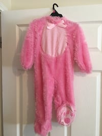 Pink bunny costume