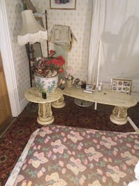 Three antique tables made in the 50's still like b Cleveland, 44106