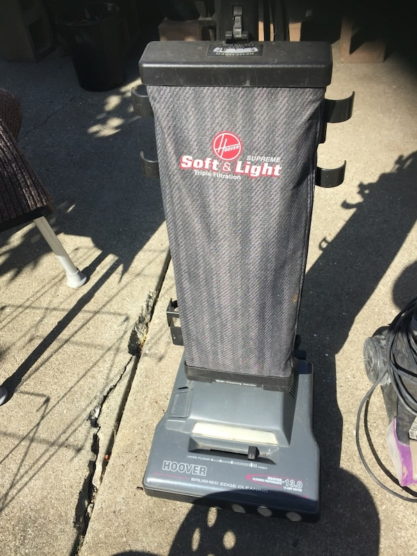 Used Black And Gray Soft And Light Hoover Vacuum For Sale In San