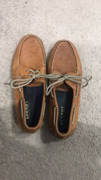 pair of brown Sperry boat shoes Vancouver, V5S 2V5