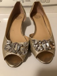Gold Crystal Low Heels Lorton, 22079