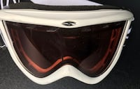 SMITH OPTICS TRANSIT SKI SNOWBOARD GOGGLES WHITE PINK LENS AIR FLOW Falls Church, 22043