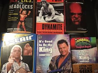 Wrestling Books - Best Offer  London