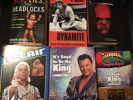 Wrestling Books - Best Offer