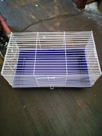 white and purple pet cage DuBois, 15801
