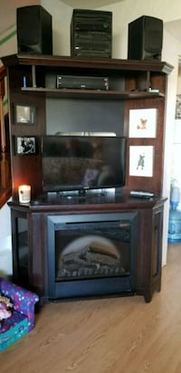 Entertainment Center w/ Electric Fireplace  St. Albert, T8N 3V6