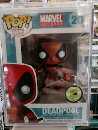 Pop ! Marvel Deadpool vinyl figure box Gray, 70359