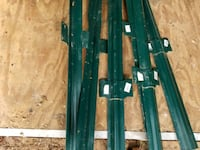 6-foot fencing material with posts for 60 feet Gaithersburg, 20878