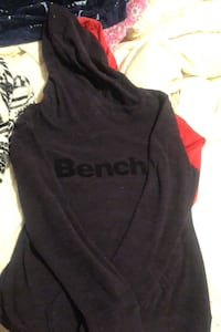 Large soft bench hoodie