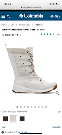 COLUMBİA winter boots for women Montreal, H1G 4W8
