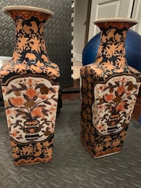 Stunning Asian Inspired Decorative Vases Mississauga, L5B