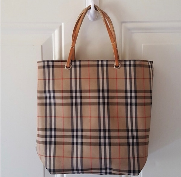 Used Brown Burberry Tote Bag for sale - letgo fcc0d1c5f95a0