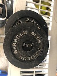 black and gray barbell plates Lompoc, 93436