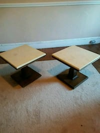 two brown wooden side tables Danbury, 06810