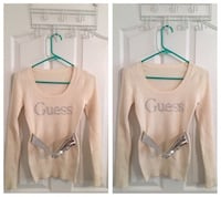Guess scoop neck sweater  Edmonton, T6R