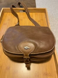 Roots Leather Saddle Bag