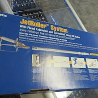 """Graco 9"""" Jet Roller System with Fixed Extension, CleanShot Valve, & In-Line Valve 24U172 Calgary"""
