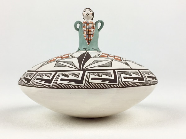 18f6d8ca7 Handmade Acoma Style Pottery Corn Doll Seed Pot (1015967). HomeHome and  Garden South San Francisco